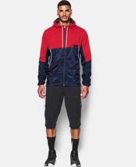 Men's UA Pursuit Jacket LIMITED TIME: FREE U.S. SHIPPING 1 Color $74.99 to $99.99