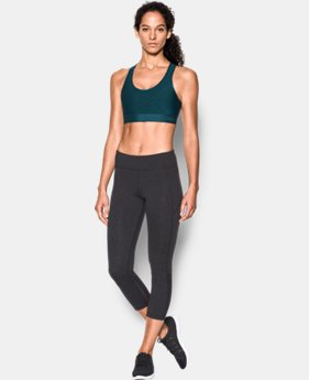 Women's Armour® Mid Embossed Sports Bra  4 Colors $26.99