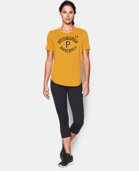 New to Outlet Women's Pittsburgh Pirates Crew  1 Color $24.99