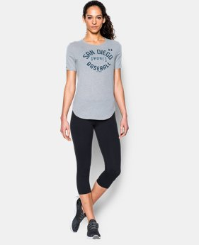 Women's San Diego Padres Crew LIMITED TIME: FREE U.S. SHIPPING 1 Color $34.99