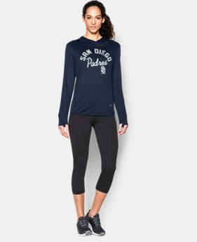 Women's San Diego Padres UA French Terry Hoodie  1  Color Available $52.49