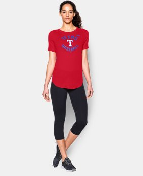 Women's Texas Rangers Crew LIMITED TIME: FREE SHIPPING 1 Color $34.99