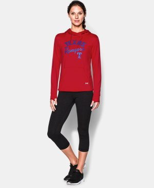 New to Outlet Women's Texas Rangers UA French Terry Hoodie  1 Color $39.74