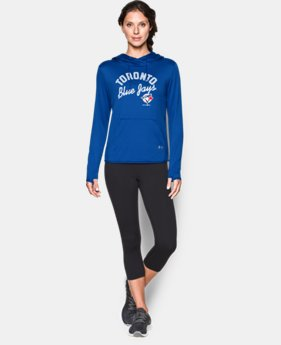 New Arrival  Women's Toronto Blue Jays UA French Terry Hoodie  1 Color $79.99
