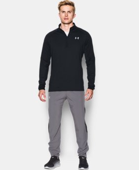 Men's UA No Breaks Run ¼ Zip  1 Color $48.99