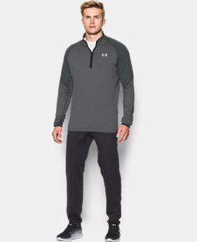 Men's UA No Breaks Run ¼ Zip  1 Color $74.99