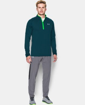 Men's UA No Breaks Run ¼ Zip  1 Color $64.99