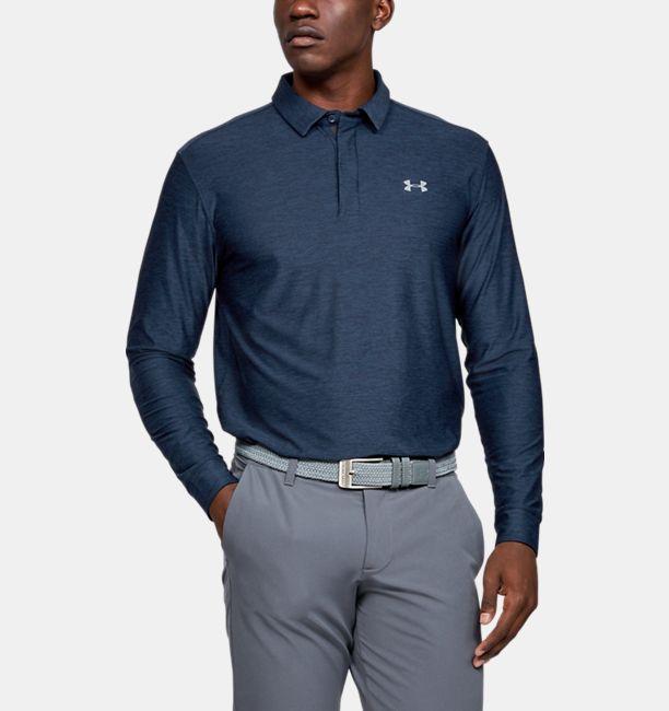 Men S Ua Playoff Long Sleeve Polo