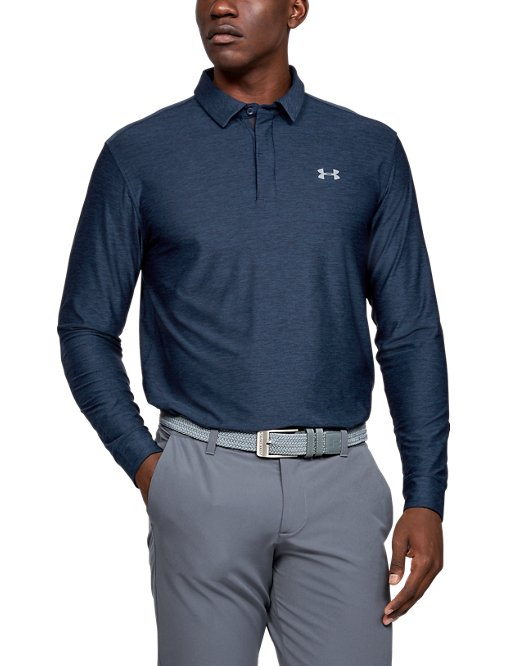 3f81082315 Men's UA Playoff Long Sleeve Polo
