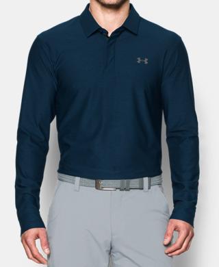 Men's UA Playoff Long Sleeve Polo