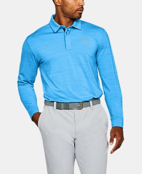 Best Seller Men's UA Playoff Long Sleeve Polo  1 Color $69.99