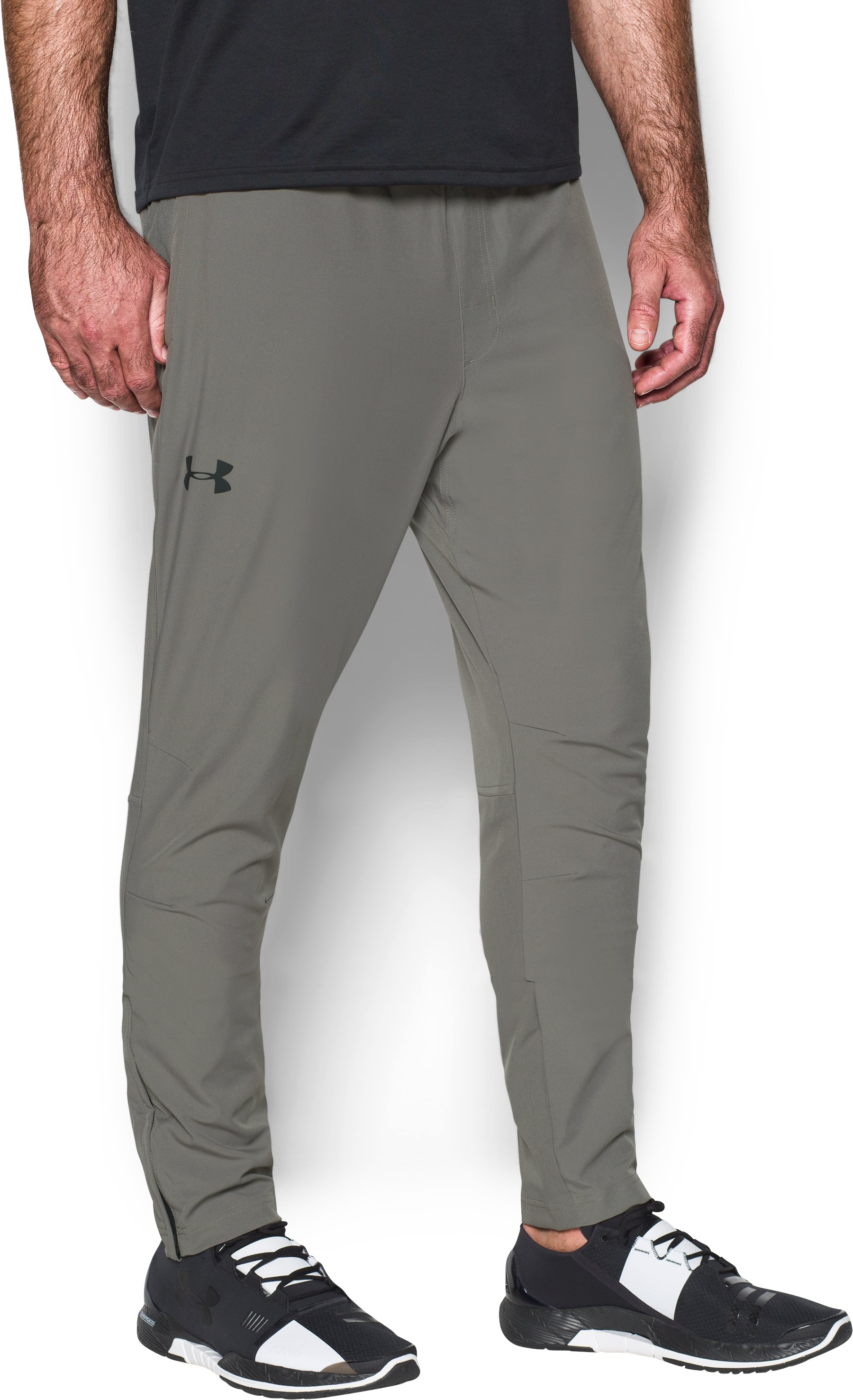 Men's UA Circuit Woven Tapered Pants, TAN STONE, zoomed image