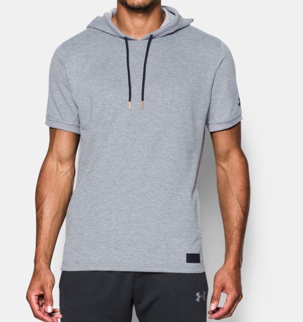 Men's UA Pursuit Short Sleeve Hoodie | Under Armour US