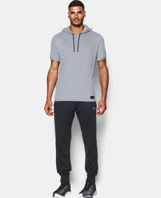 Men's UA Pursuit Short Sleeve Hoodie  2 Colors $64.99