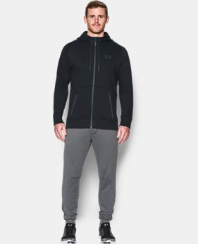 New Arrival  Men's UA Varsity Full Zip Hoodie   $124.99