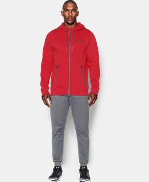 Men's UA Varsity Full Zip Hoodie LIMITED TIME: FREE SHIPPING 1 Color $124.99
