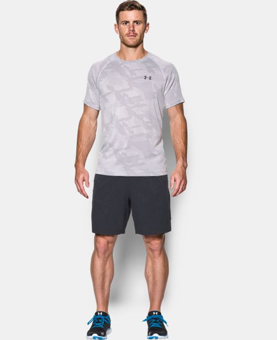 Best Seller Men's UA Tech™ Jacquard T-Shirt   1 Color $29.99