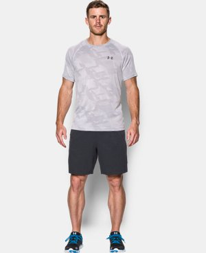 Men's UA Tech™ Jacquard T-Shirt  LIMITED TIME OFFER + FREE U.S. SHIPPING 1 Color $22.49