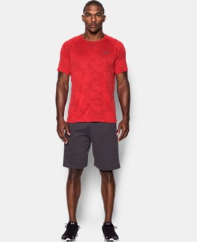 New Arrival  Men's UA Tech™ Jacquard T-Shirt  LIMITED TIME: FREE SHIPPING 6 Colors $34.99