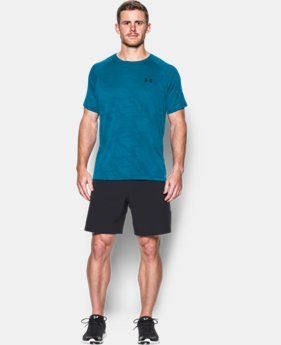 Best Seller Men's UA Tech™ Jacquard T-Shirt  LIMITED TIME: FREE SHIPPING 1 Color $29.99