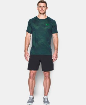 Best Seller  Men's UA Tech™ Jacquard T-Shirt  LIMITED TIME: FREE SHIPPING 1 Color $34.99