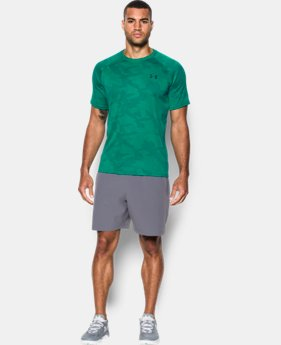 Men's UA Tech™ Jacquard T-Shirt  LIMITED TIME: FREE SHIPPING 2 Colors $29.99