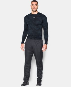 New Arrival Men's UA ColdGear® Armour Jacquard Compression Crew  1 Color $59.99