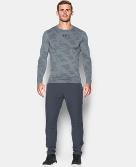 Men's UA ColdGear® Armour Jacquard Compression Crew  1 Color $33.99