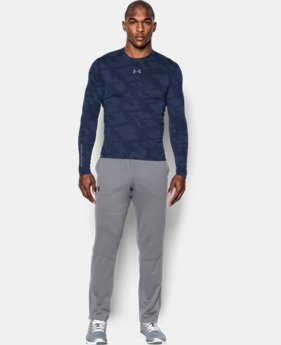 Men's UA ColdGear® Armour Jacquard Compression Crew LIMITED TIME: UP TO 30% OFF 4 Colors $44.99
