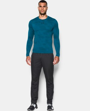 Men's UA ColdGear® Armour Jacquard Compression Crew LIMITED TIME OFFER + FREE U.S. SHIPPING 1 Color $44.99