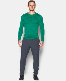 Men's UA ColdGear® Armour Jacquard Compression Crew  3 Colors $26.99