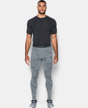 Men's UA ColdGear® Armour Jacquard Compression Leggings  6 Colors $59.99