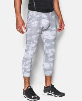 New Arrival Men's HeatGear® Armour Baseball ¾ Leggings  1 Color $39.99