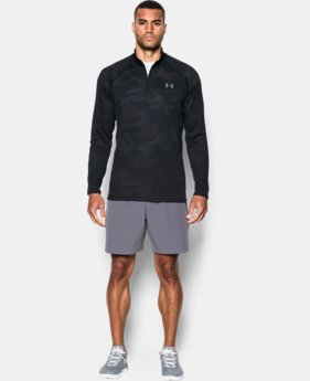 New Arrival  Men's UA Tech™ Jacquard ¼ Zip  1 Color $49.99