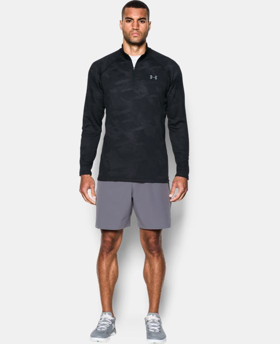 Men's UA Tech™ Jacquard ¼ Zip  1 Color $49.99