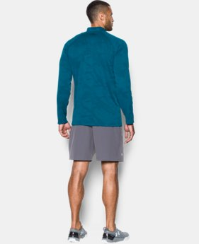 Men's UA Tech™ Jacquard ¼ Zip LIMITED TIME OFFER + FREE U.S. SHIPPING 1 Color $33.74