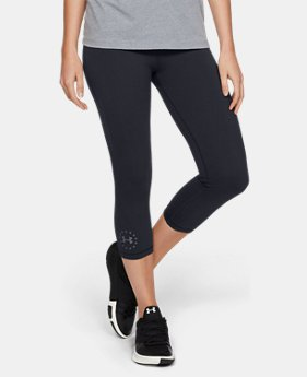 Women's UA Freedom Training Capris  1  Color Available $34.99