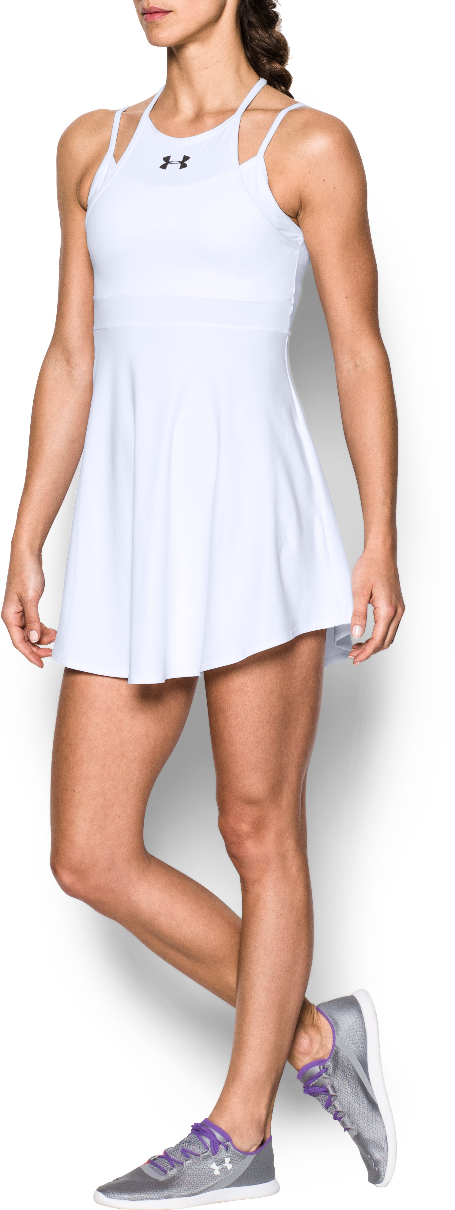 Women's UA Tennis Dress, White,