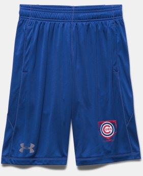 Boys' Chicago Cubs UA Raid Shorts