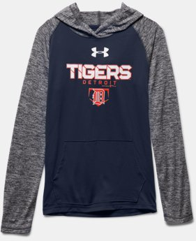 Boys' Detroit Tigers UA Tech™ Hoodie  1 Color $33.99