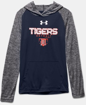 Boys' Detroit Tigers UA Tech™ Hoodie  1 Color $49.99