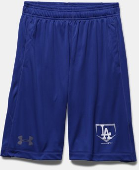 Boys' Los Angeles Dodgers UA Raid Shorts