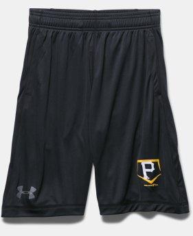 Boys' Pittsburgh Pirates UA Raid Shorts