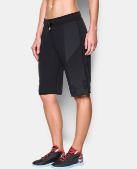 Women's UA French Terry Boyfriend Short LIMITED TIME: FREE SHIPPING 1 Color $39.99