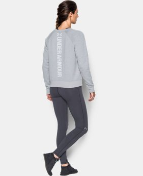 New Arrival Women's UA Favorite Fleece Crew  2 Colors $49.99