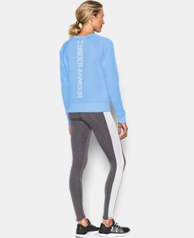 Women's UA Favorite Fleece Crew  2 Colors $49.99