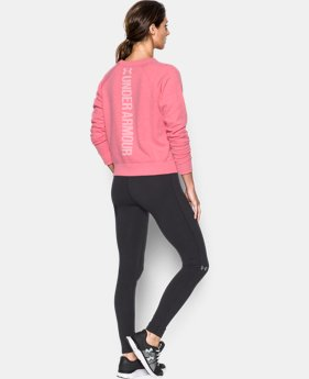 Women's UA Favorite Fleece Crew  1 Color $49.99