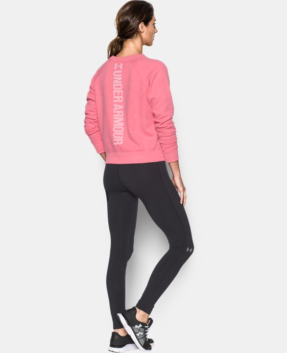 Women's UA Favorite Fleece Crew  1 Color $59.99