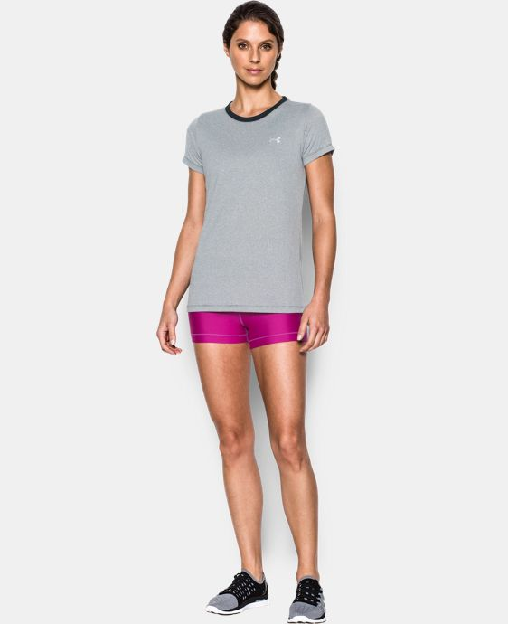 New Arrival  Women's UA Tech™ Crew - Stripe LIMITED TIME: FREE SHIPPING 1 Color $18.99