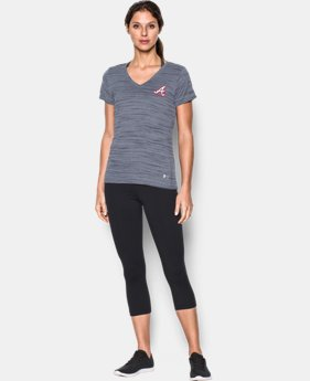 Women's Atlanta Braves UA Tech™ T-Shirt LIMITED TIME: FREE SHIPPING 1 Color $36.99